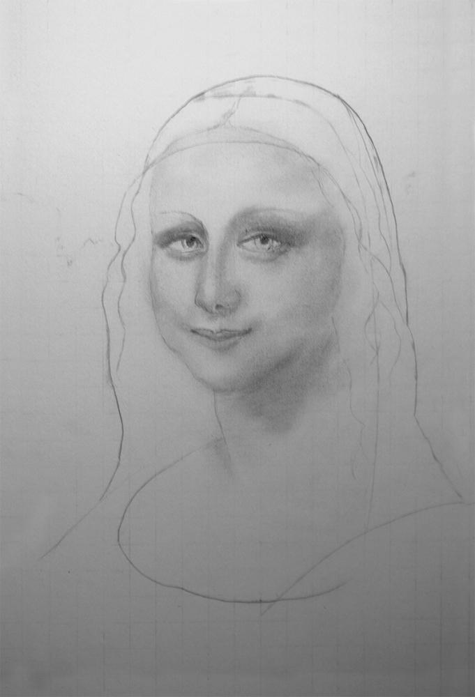 Mona Lisa par Anton